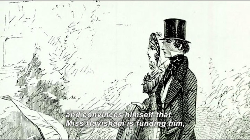 Still image from: The Secret Life of Books: Great Expectations
