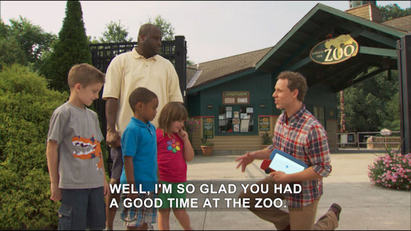 Still image from Noodle and Doodle: Zoo-rific/Mom's New Job