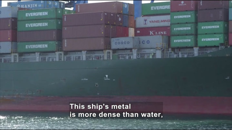 Still image from How Do Ships Float?