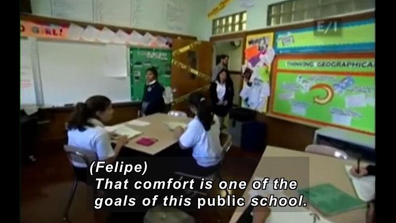 Still image from: Teen Kids News (Episode 949)