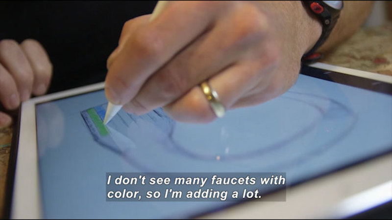 Still image from: The Art of Engineering: Industrial Design at Delta Faucet