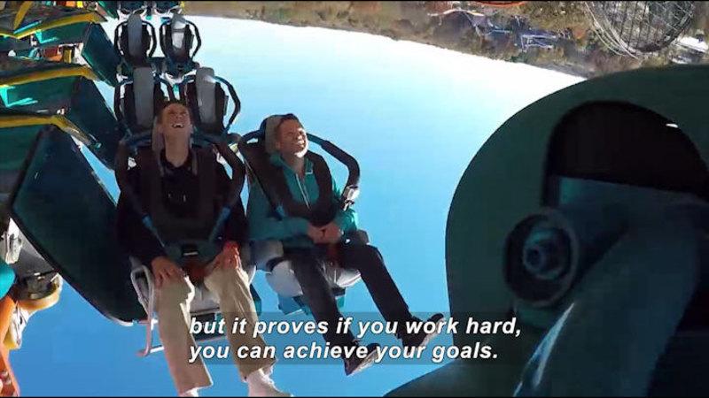 Still image from: Thrill Ride: Designing a Roller Coaster Experience