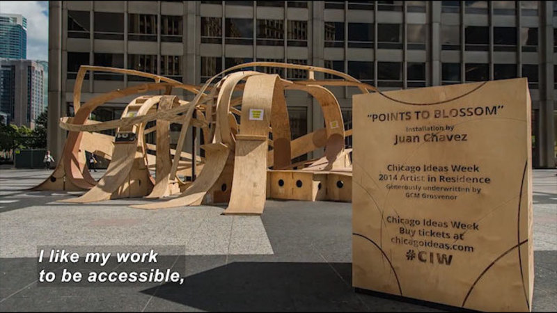 Still image from: Can Skateboard Ramp Design Become Sculpture?