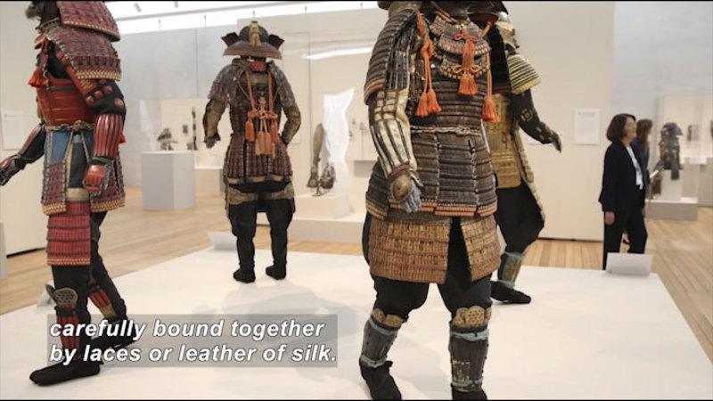 Still image from: The Art of the Samurai: Japanese Warrior Armor