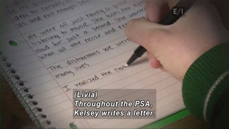 Still image from: Teen Kids News (Episode 1426)