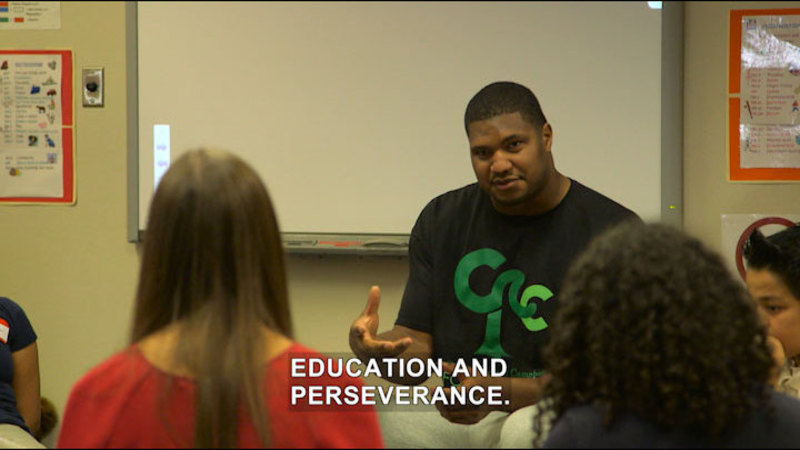 Still image from Game Changers: Keeping the Dream Alive