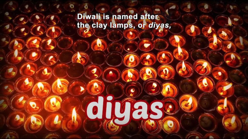 Still image from: All About the Holidays: Diwali