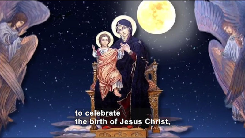 Still image from: All About the Holidays: Christmas