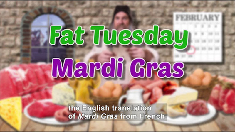 Still image from: All About the Holidays: Mardi Gras