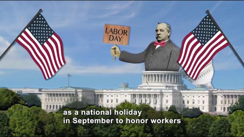 Still image from: All About the Holidays: Labor Day