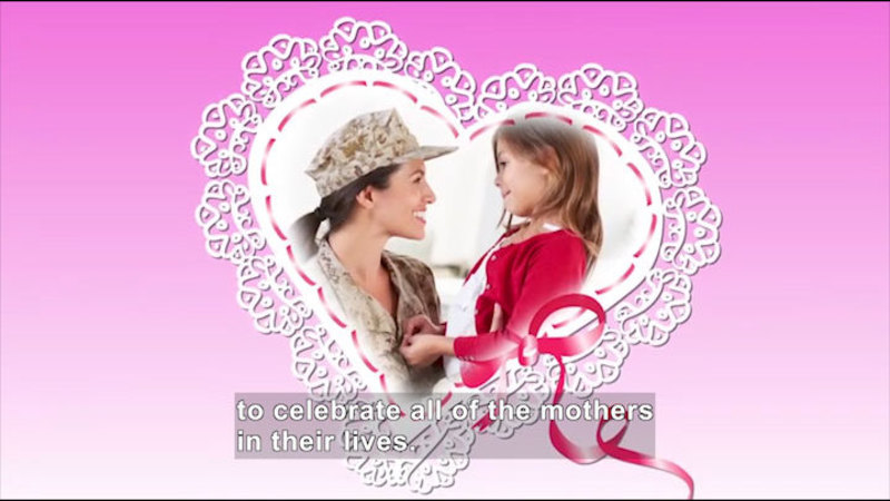 Still image from All About the Holidays: Mother's Day