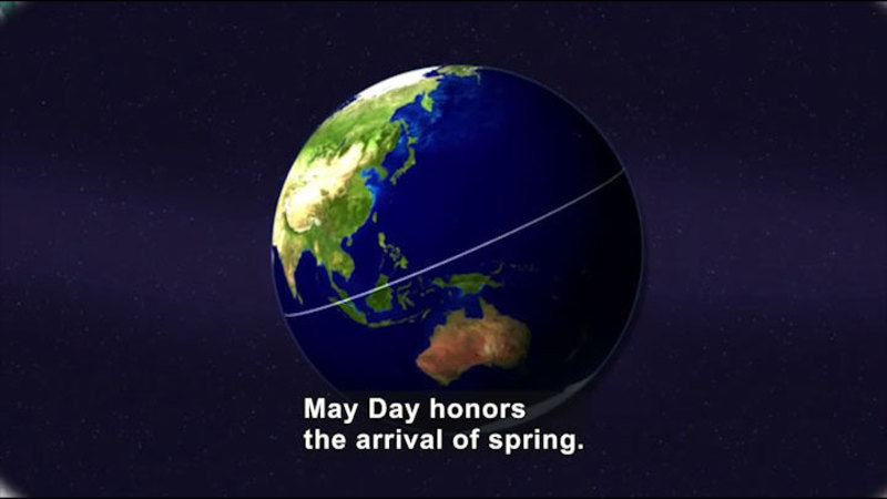 Still image from All About the Holidays: May Day