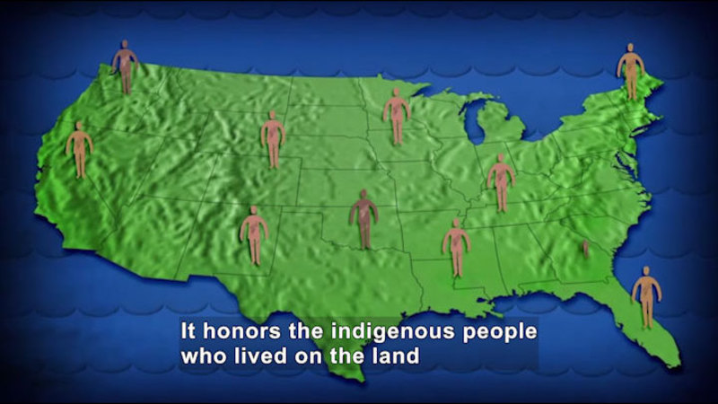 Still image from All About the Holidays: Native American Heritage Month