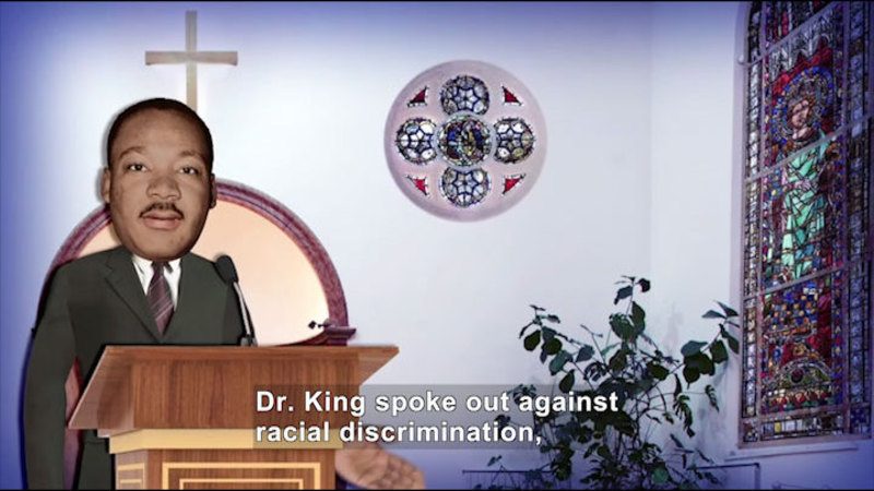 Still image from All About the Holidays: Martin Luther King Jr. Day