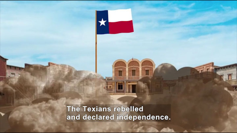 Still image from All About the Holidays: Texas Independence Day