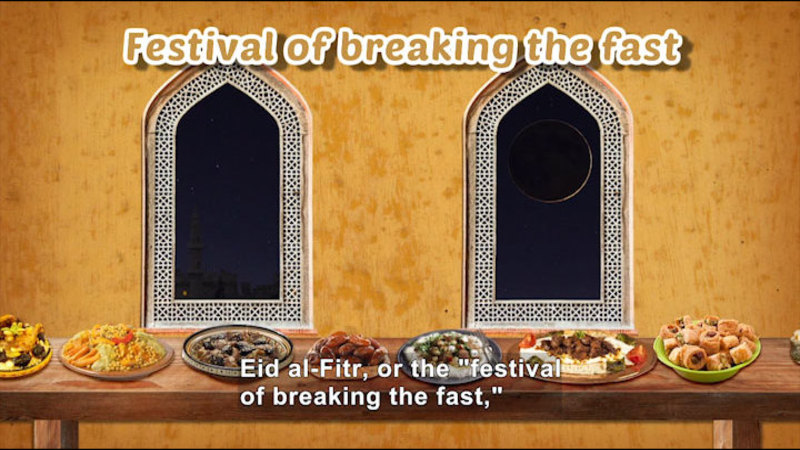 Still image from All About the Holidays: Eid al-Fitr