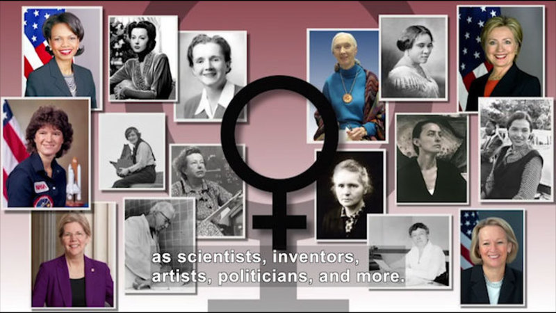 Still image from: All About the Holidays: Women's History Month