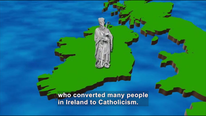 Still image from: All About the Holidays: St. Patrick's Day