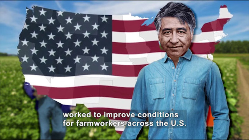 Still image from: All About the Holidays: Cesar Chavez Day