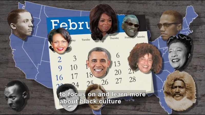 Still image from All About the Holidays: Black History Month
