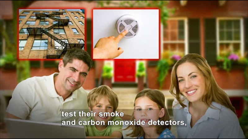 Still image from All About the Holidays: National Fire Prevention Week
