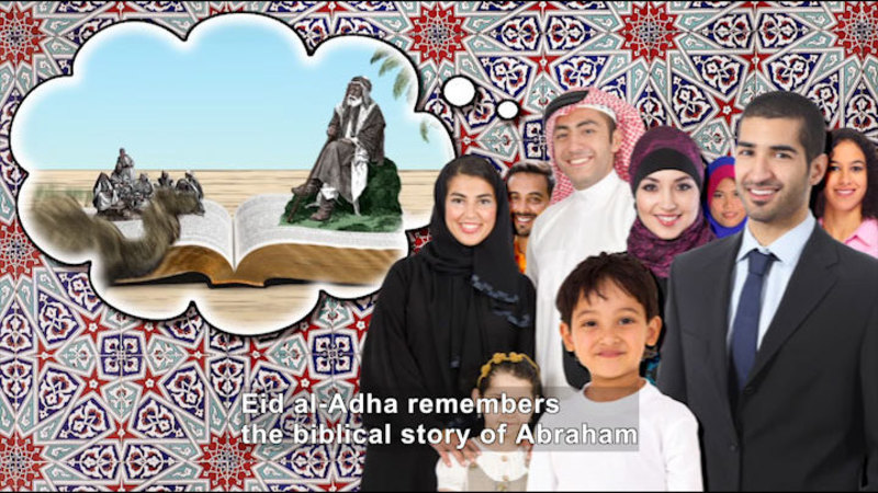 Still image from All About the Holidays: Eid al-Adha