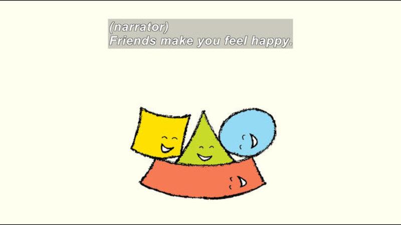 Still image from: Friendshape