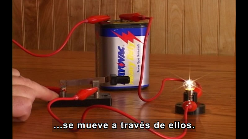 Still image from Electrical Circuits (Spanish)