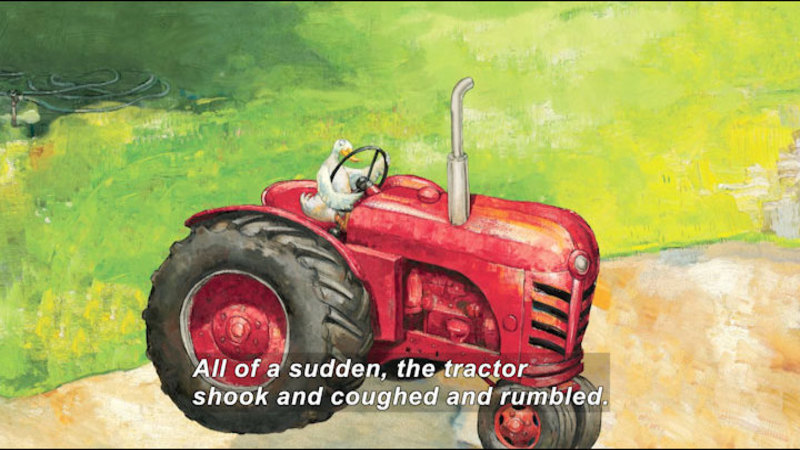 Still image from: Duck on a Tractor