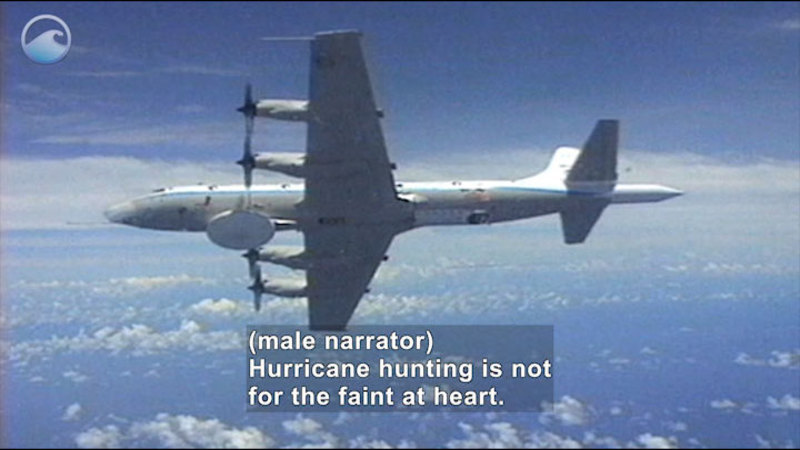 Still image from NOAA Ocean Today: The Hurricane Hunters