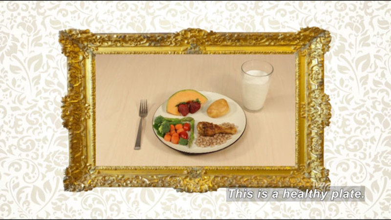 Still image from A Healthy Plate