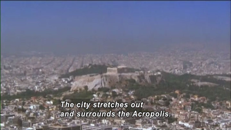 Still image from: The World Heritage: Acropolis and the Great Wall