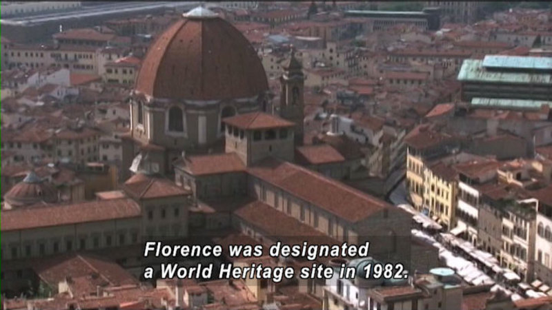 Still image from: The World Heritage: Florence and Vatican