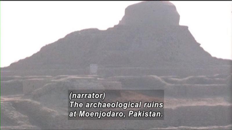 Still image from: The World Heritage: The Pyramid Fields & Moenjodaro