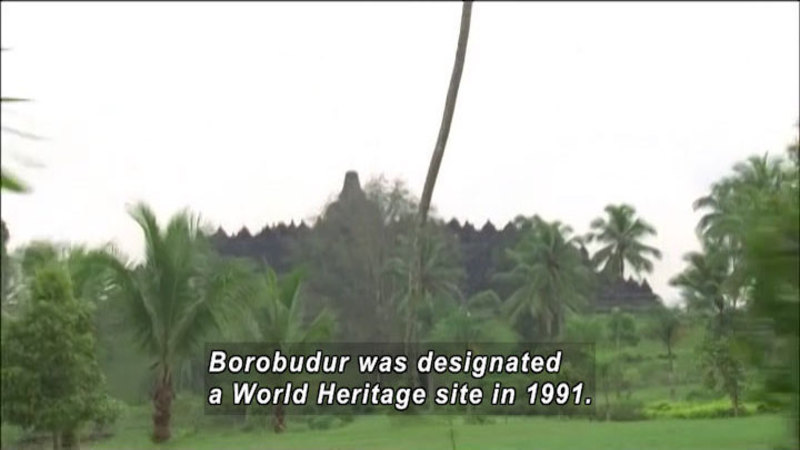 Still image from: The World Heritage: Ajanta & Borobudur
