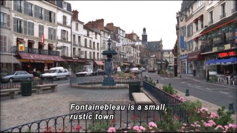 Still image from: The World Heritage: Fontainebleau & Tikal