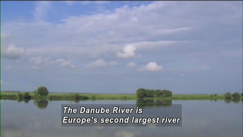 Still image from The World Heritage: Danube Delta & Great Barrier Reef