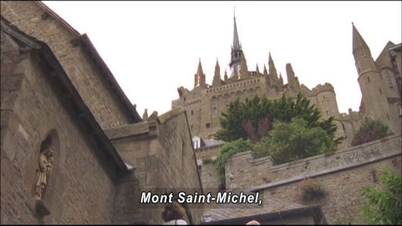 Still image from: The World Heritage: Mont-Saint-Michel & Hawaii