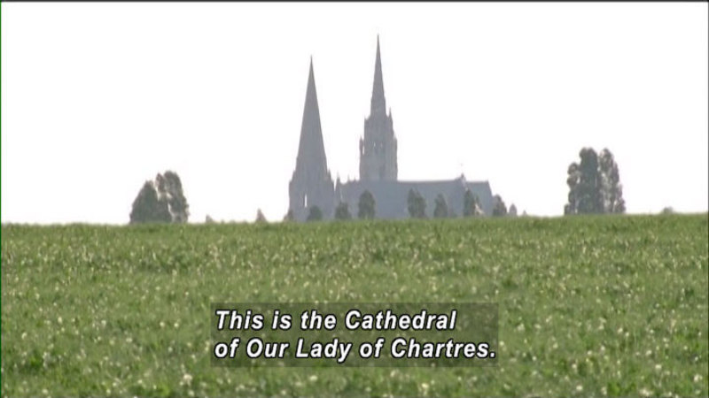 Still image from: The World Heritage: Chartres Cathedral & Thessalonika