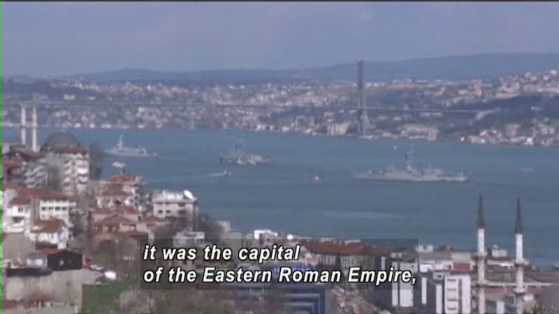 Still image from: The World Heritage: Istanbul & Cordoba