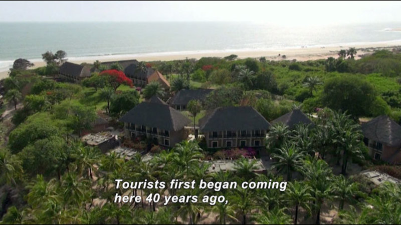 Still image from: Senegal: Sites for Your Eyes