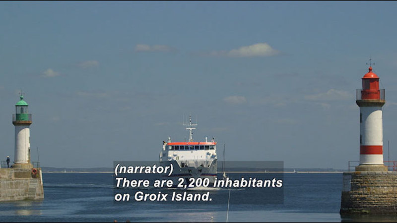Still image from: Groix Island: Sites for Your Eyes