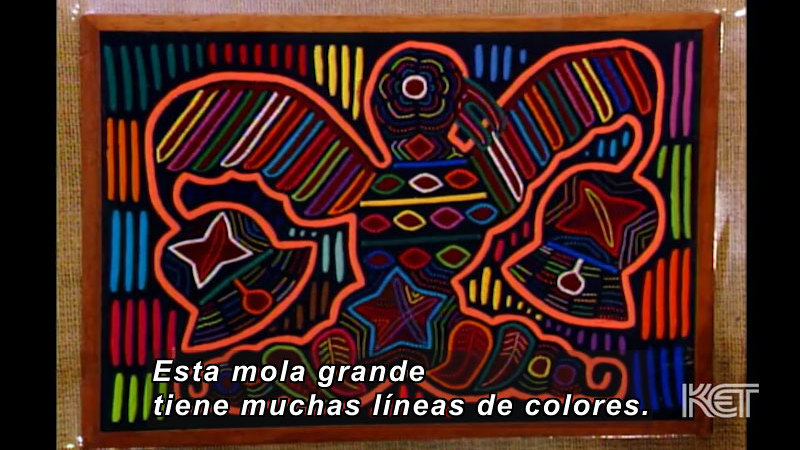 Still image from: Art and More: Lesson 41 (Spanish)