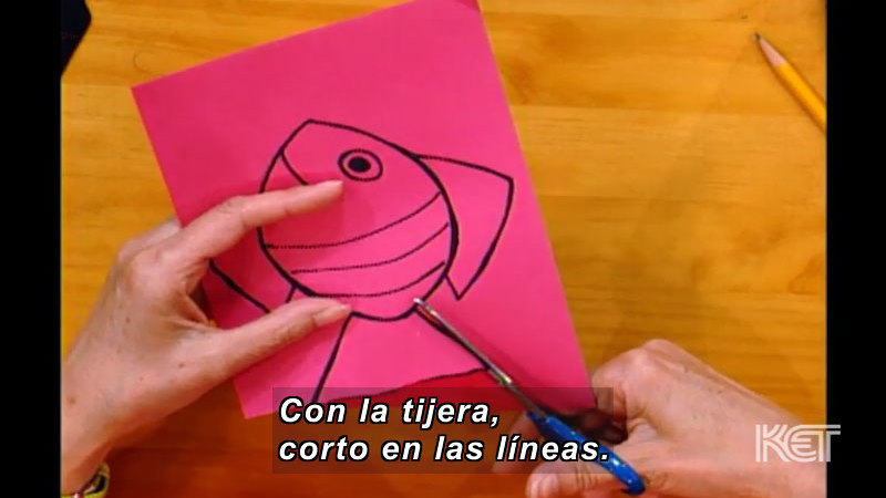 Still image from: Art and More: Lesson 43 (Spanish)