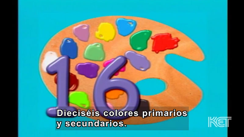 Still image from Art and More: Lesson 48 (Spanish)