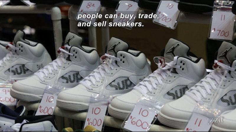 Still image from: Sneaker Money