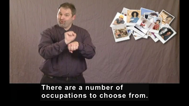 Still image from: Getting a Job! for Students Who Are Deaf and Hard of Hearing: Your Journey