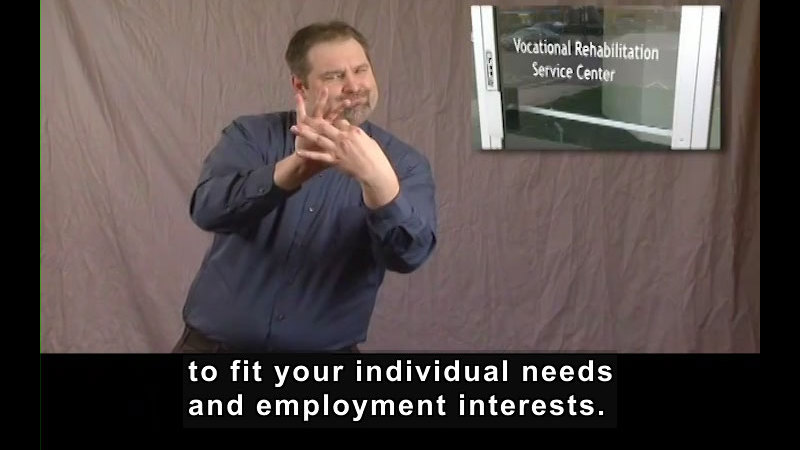 Still image from Getting a Job! for Students Who Are Deaf and Hard of Hearing: Introduction to Vocational Rehabilitation