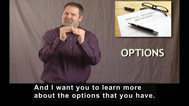 Still image from: Getting a Job! for Students Who Are Deaf and Hard of Hearing: Overview of Social Security Benefits