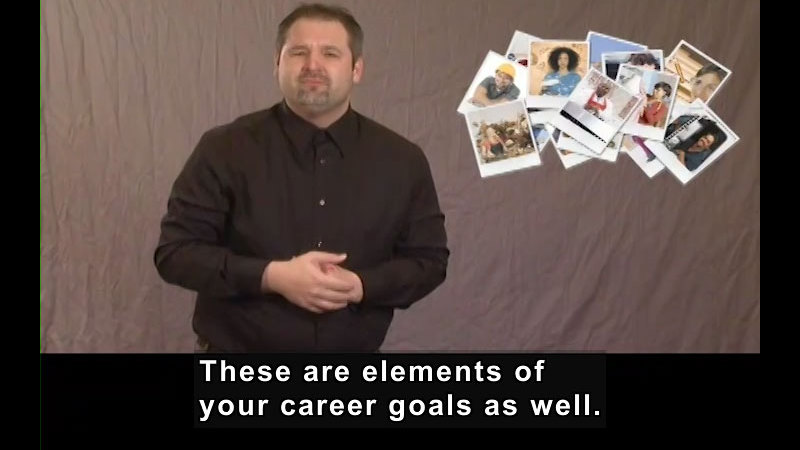Still image from Getting a Job! for Students Who Are Deaf and Hard of Hearing: Your Job Search